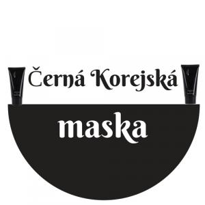 Černá Korejská maska