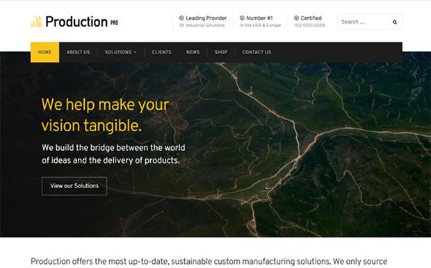 wordpress-sablona-Production-Pro